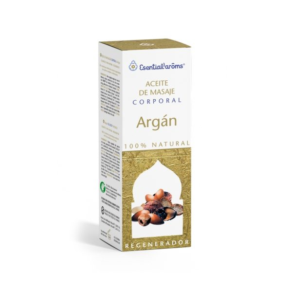 Aceite corporal Argán Esential Aroms