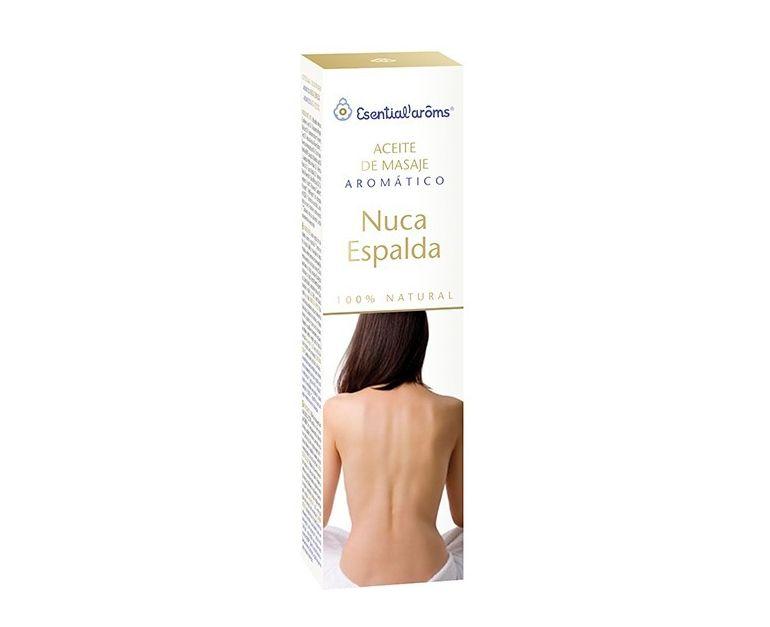 Aceite de masaje Nuca-Espalda Esential Aroms