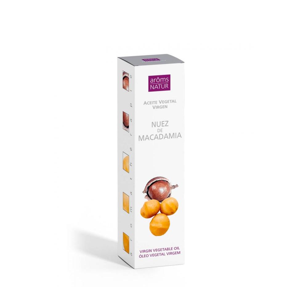 Aceite vegetal Nuez de Macadamia Aroms Natur