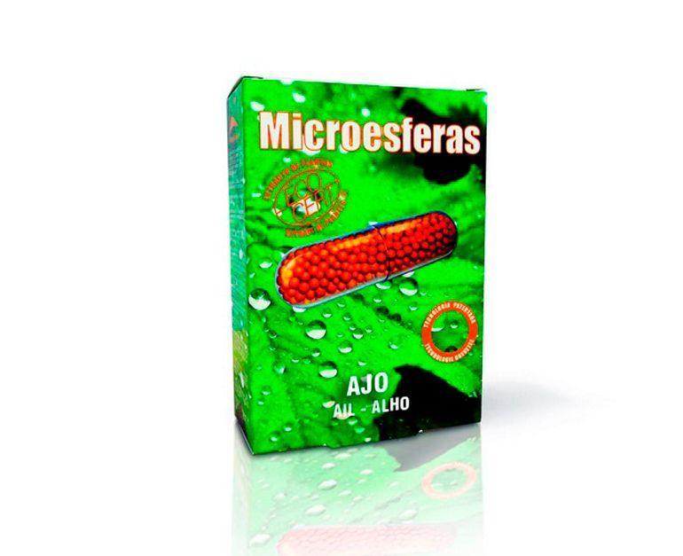 Ajo microesferas plantas Prisma Natural