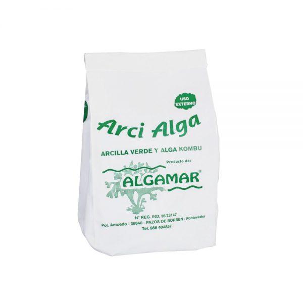 Arcilla Verde y Alga Kombu Algamar