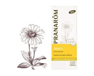 Árnica aceite vegetal bio Pranarom