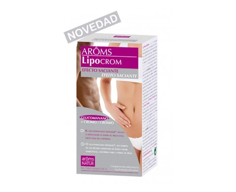 Aroms Lipocrom efecto saciante cápsulas