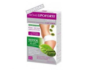 Aroms Lipoforte con café verde descafeinado cápsulas