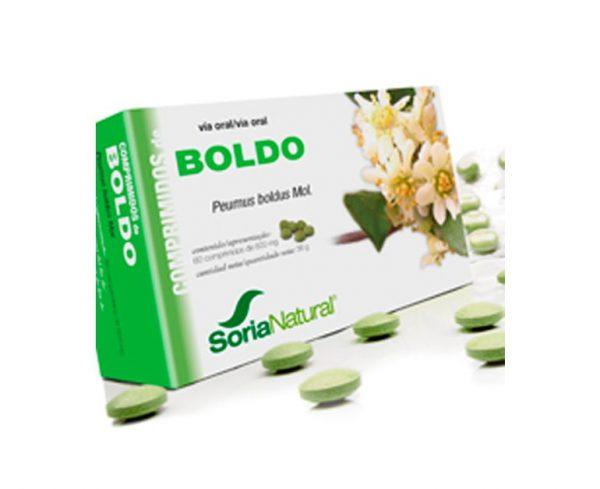 Boldo comprimidos de planta Soria Natural