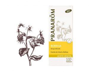 Borraja aceite vegetal bio Pranarom