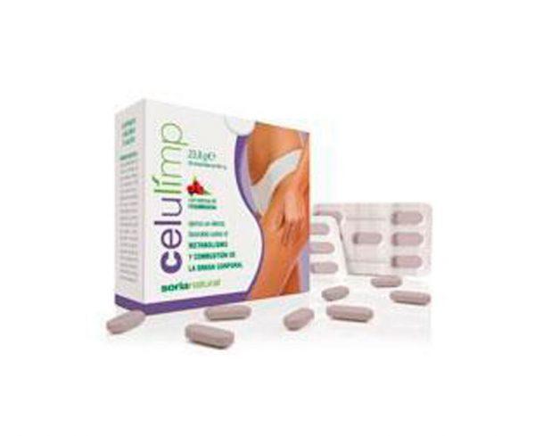 Celulimp combustión grasa corporal comprimidos Soria Natural
