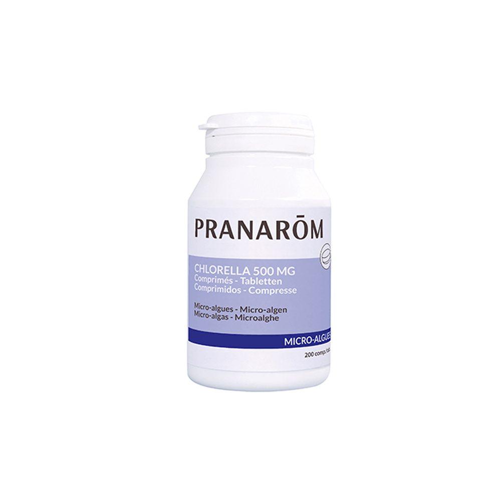 Chlorella micro-algas comprimidos Pranarom