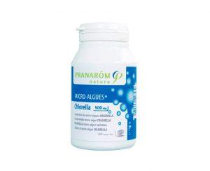 Clorela micro-algas comprimidos Pranarom