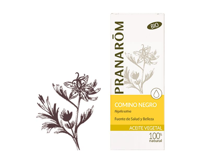 Comino negro aceite vegetal bio Pranarom