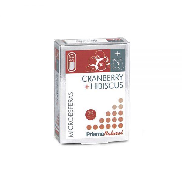 Cranberry + hibiscus microesferas compuestas Prisma Natural