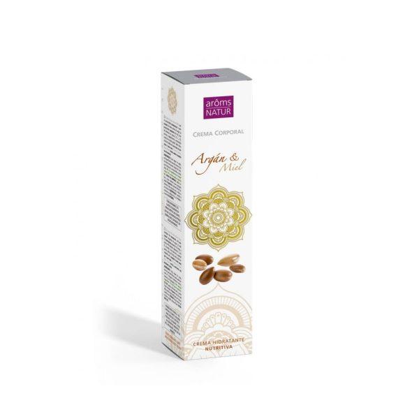 Crema Corporal Nutritiva Argán y Miel Aroms Natur