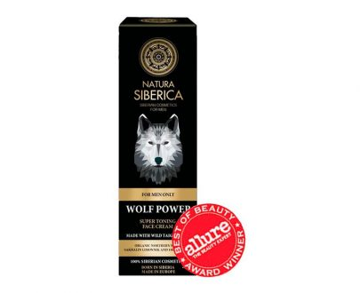 Crema facial súper tonificante El Poder del Lobo