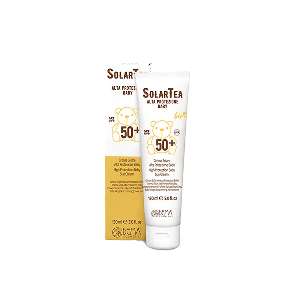 Crema solar alta protección bebé spf50 Bema Cosmetici