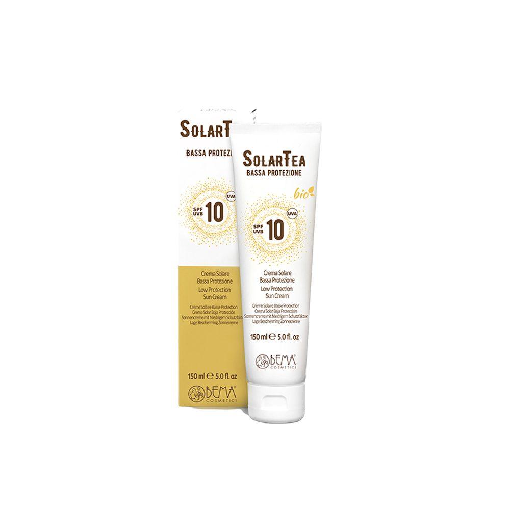 Crema solar baja protección spf10 Bema Cosmetici