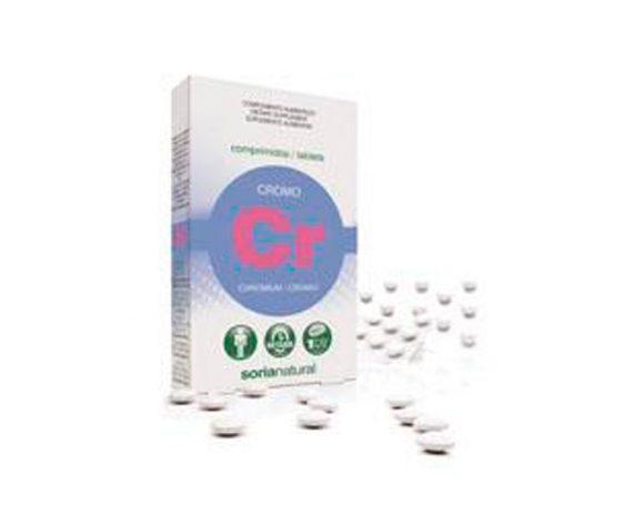 Cromo comprimidos Retard Soria Natural
