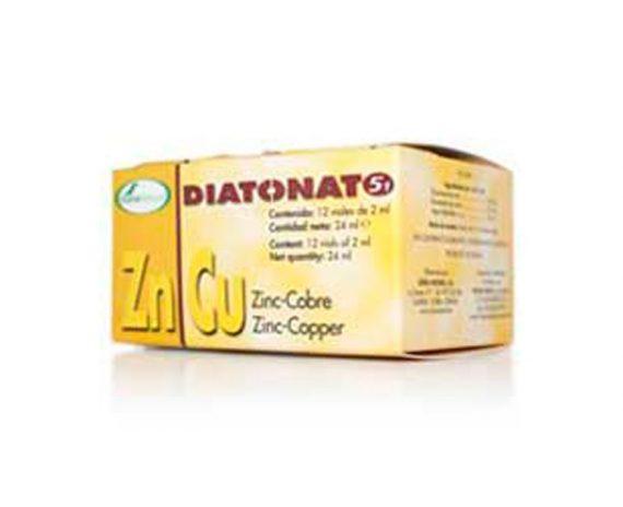 Diatonato 5-1 Zinc cobre oligoterapia viales Soria Natural