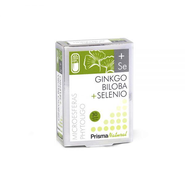 Ginkgo biloba + selenio microesferas Phytoligo Prisma Natural