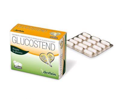 Glucostend niveles de glucosa cápsulas Derbós