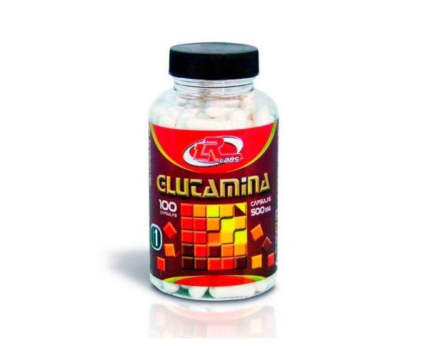 Glutamina energía nutrición deportiva cápsulas LR Labs
