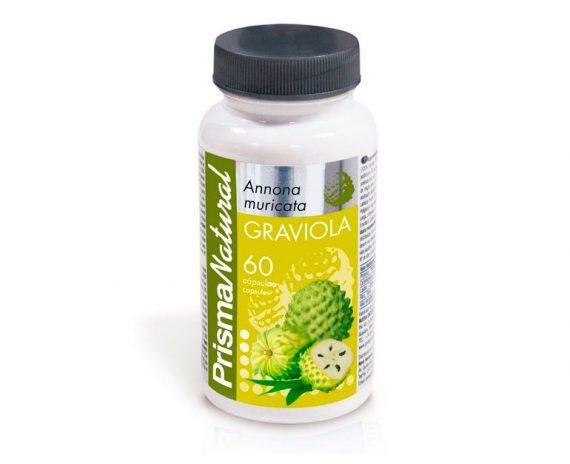 Graviola defensas cápsulas Prisma Natural