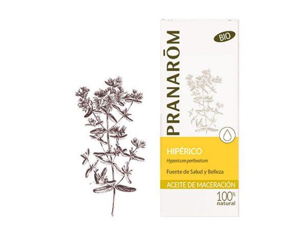 Hipérico aceite vegetal bio Pranarom