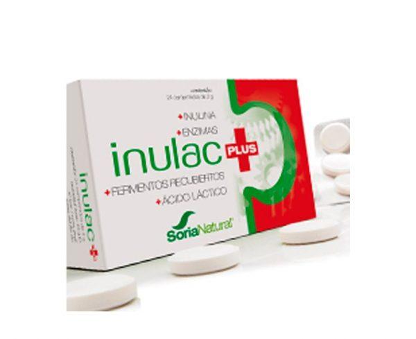 Inulac Plus comidas pesadas comprimidos Soria Natural