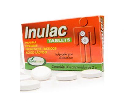 Inulac comidas pesadas tablets Soria Natural