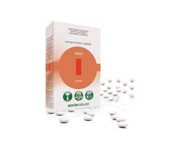 Iodo comprimidos Retard Soria Natural