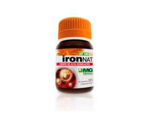 V&M 32 Iron Nat comprimidos MGdose