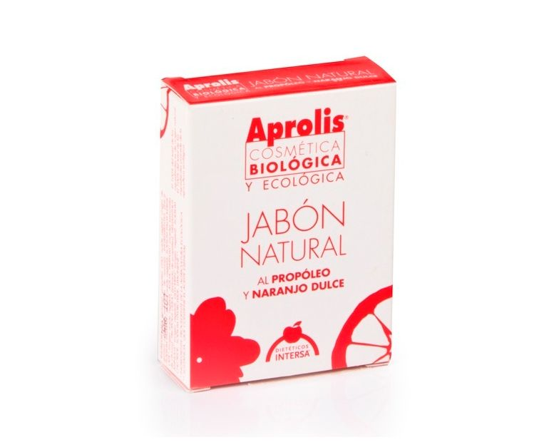Jabón natural propóleo y esencia de naranjo-cáscara Aprolis