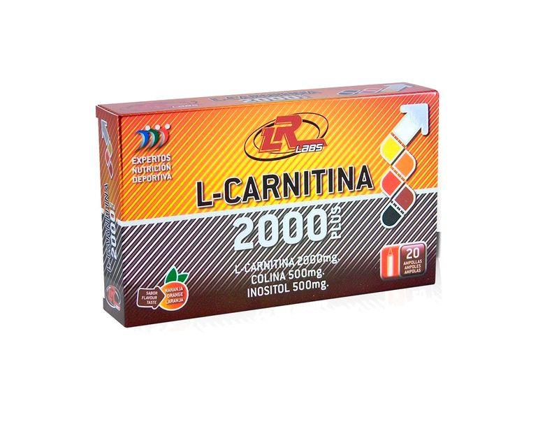 L-Carnitina 2000 Plus ampollas LR Labs
