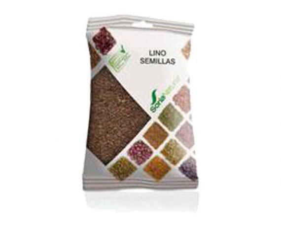 Lino semillas plantas en bolsa Soria Natural