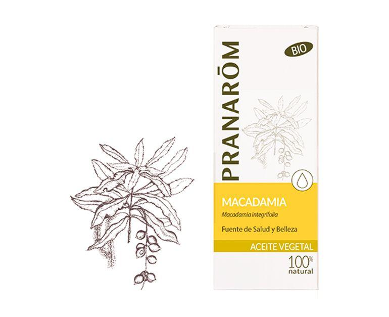 Macadamia aceite vegetal bio Pranarom