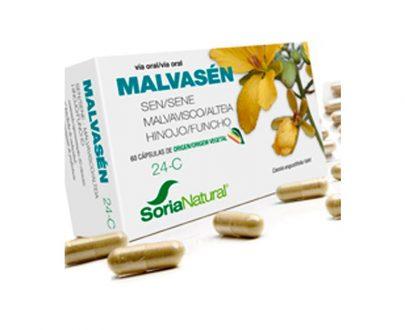 24-C Malvasén cápsulas Soria Natural