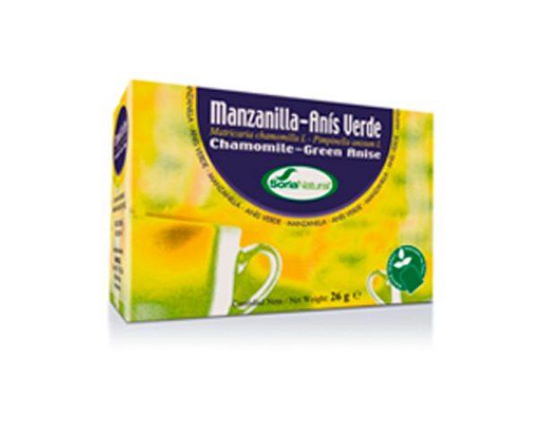 Manzanilla con anís infusión Soria Natural
