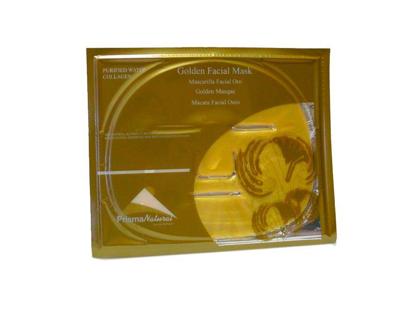 Mascarilla facial Oro con colágeno Prisma Natural