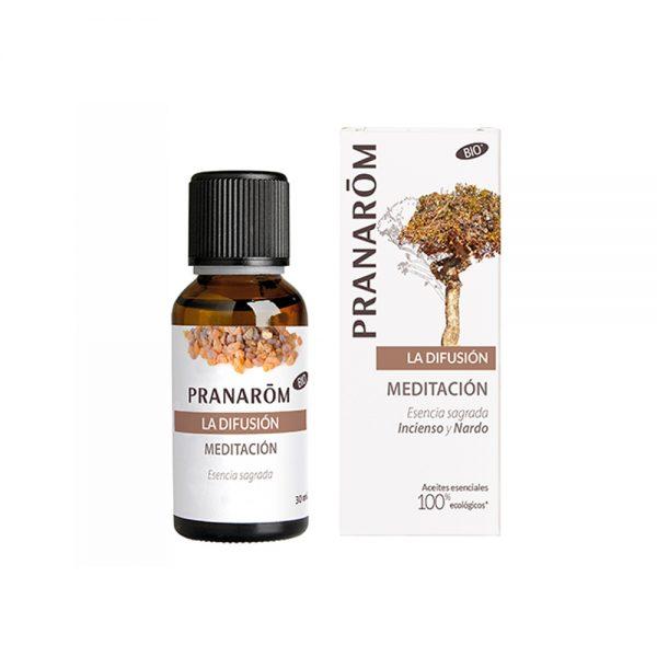 Meditación mezcla para difusor Pranarom