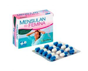 Mensulan Fémina isoflavonas menopausia cápsulas Derbós