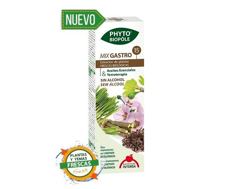 Mix Gastro 15 proceso digestivo gotas Phyto-biopole