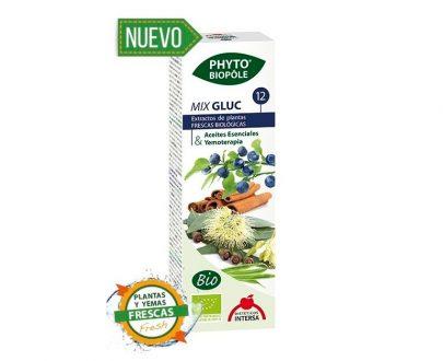 Mix Gluc 12 metabolismo azúcar gotas Phyto-biopole