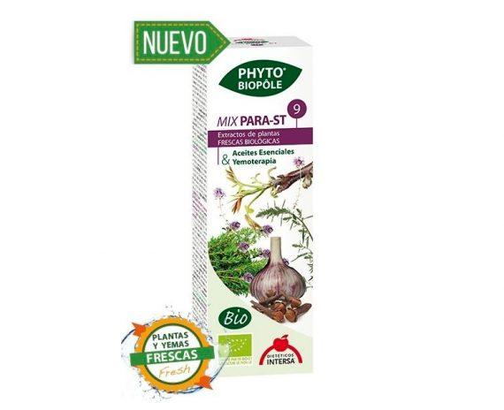 Mix Para-ST 9 depuración intestinal gotas Phyto-biopole