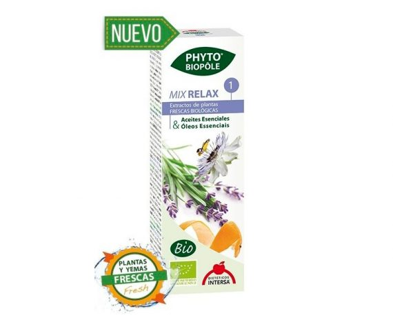 Mix Relax 1 bienestar gotas Phyto-biopole