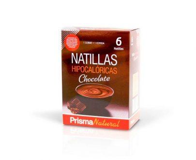 Natillas Hipocalóricas chocolate Prisma Natural