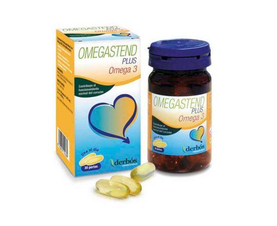 Omegastend Plus omega 3 perlas Derbós
