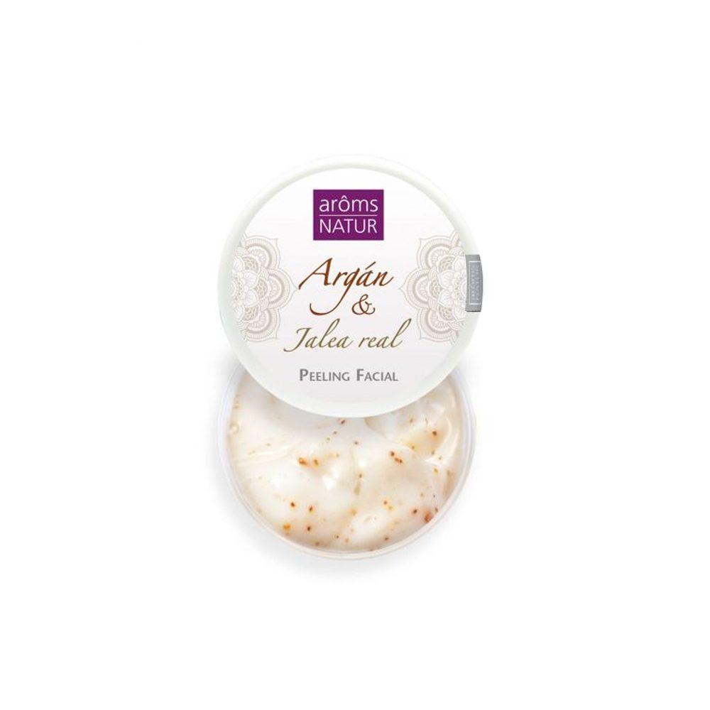 Peeling Nutritivo Argán y Jalea Real Aroms Natur