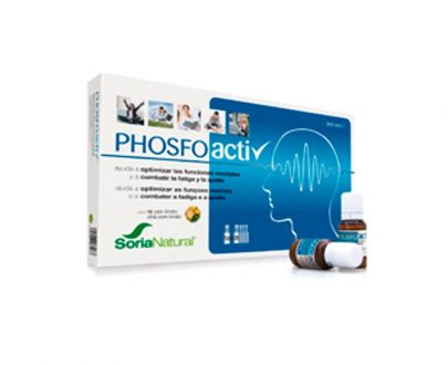 Phosfoactiv combatir fátiga viales Soria Natural