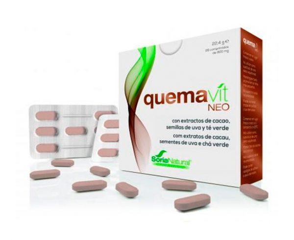 Quemavit quema grasas comprimidos Soria Natural