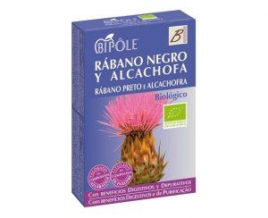 Rábano negro y alcachofa bio ampollas Bipole