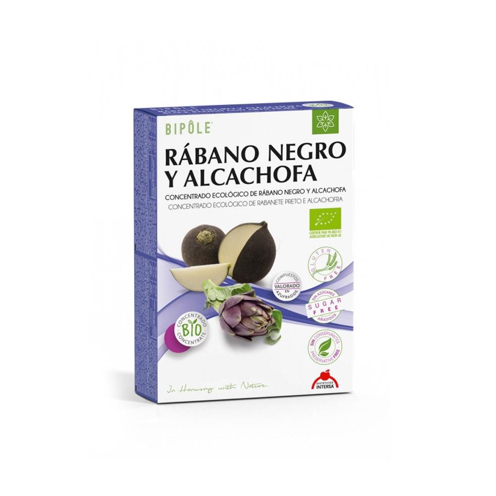 Rábano Negro y Alcachofa Ampollas